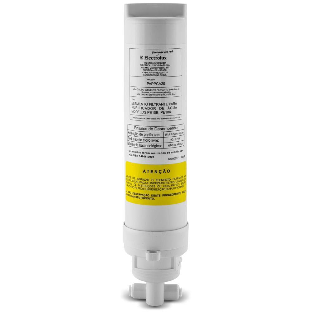 Gelinter Bebedouros e Filtros - Filtro refil Electrolux PE10B PE10X ORIGINAL