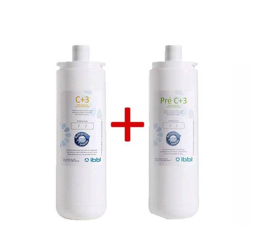 Gelinter Bebedouros e Filtros - Kit Refil Filtros IBBL BDF PDF100/300 e PFN2000 ORIGINAL