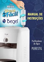 Gelinter Bebedouros e Filtros - Filtro refil para bebedouro  purificador Begel  troca fácil