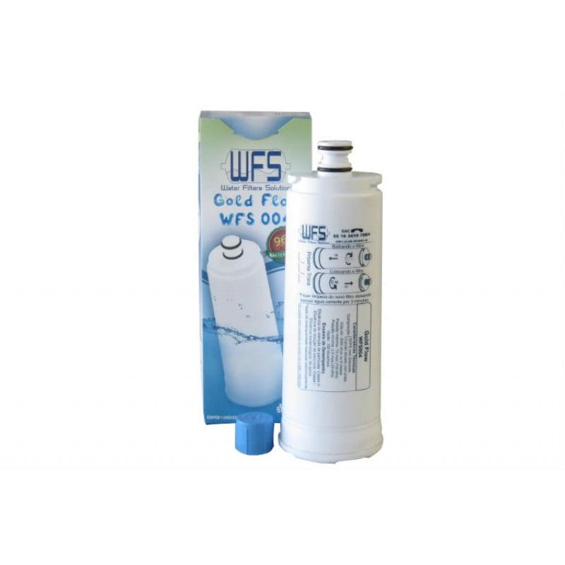 Gelinter Bebedouros e Filtros - Filtro refil Masterfrio rótulo Azul 22,50cm para purificador de água compatível