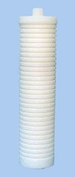 Gelinter Bebedouros e Filtros - Refil elemento filtrante AP230 em polipropileno e rosca de 1/2
