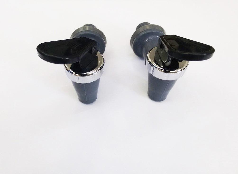 Gelinter Bebedouros e Filtros - kit torneiras rosca curta cinza para bebedouro Masterfrio