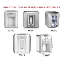 Filtro refil Electrolux PA 20G, 25G, 30G, 40G e PA10N compatível