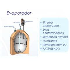 Gelinter Bebedouros e Filtros - Evaporador reservatório para purificador Soft Everest